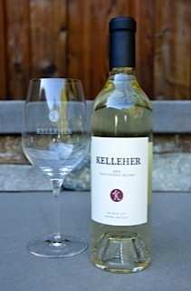 Kelleher Family Vineyard Wine Glass